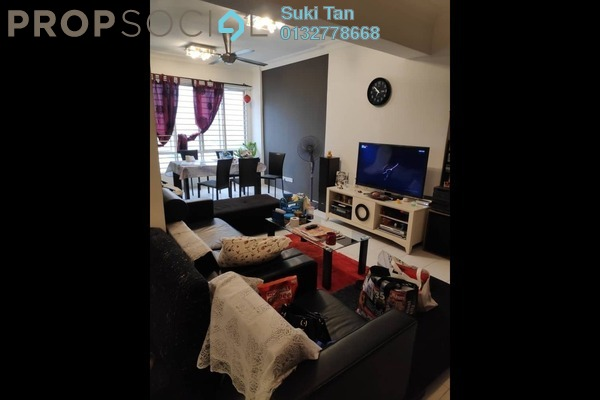 Condominium For Sale in Selayang Point, Selayang Freehold Semi Furnished 3R/2B 450k