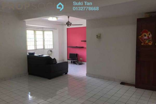 Apartment For Sale in Desa Dua, Kepong Freehold Semi Furnished 3R/2B 256k
