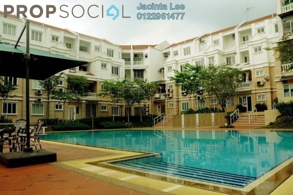 Townhouse For Sale in Sommerset Close, Bandar Sri Permaisuri Freehold Semi Furnished 4R/4B 510k