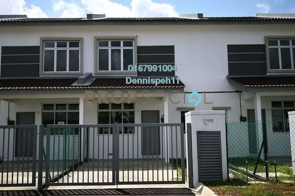 Terrace For Rent in Taman Pulai Indah, Pulai Freehold Unfurnished 3R/2B 1k