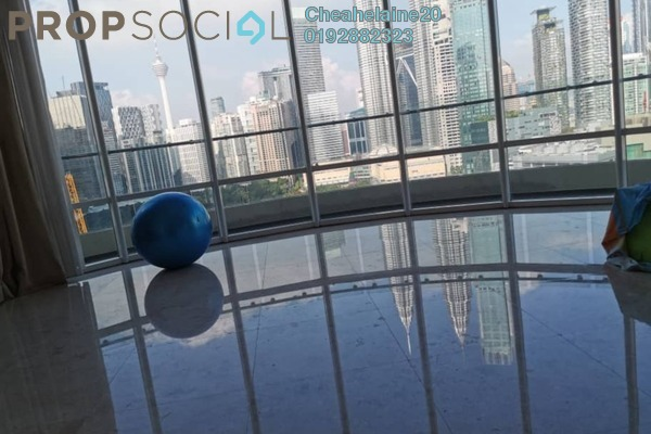 Condominium For Rent in The Oval, KLCC Freehold Fully Furnished 3R/5B 12k