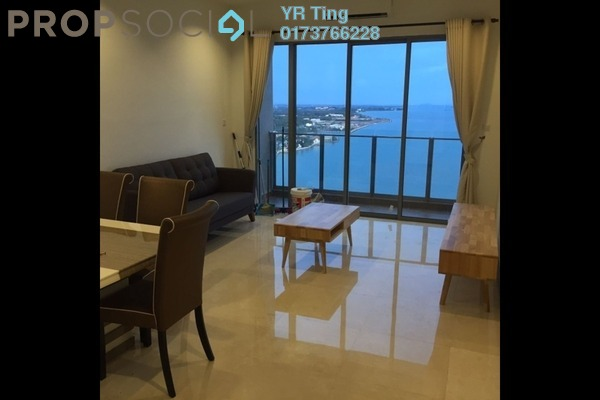For Sale Condominium at The Shore, Bandar Melaka Freehold Fully Furnished 3R/3B 780k