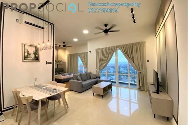 SoHo/Studio For Rent in TriTower Residence, Johor Bahru Freehold Fully Furnished 0R/1B 1.88k