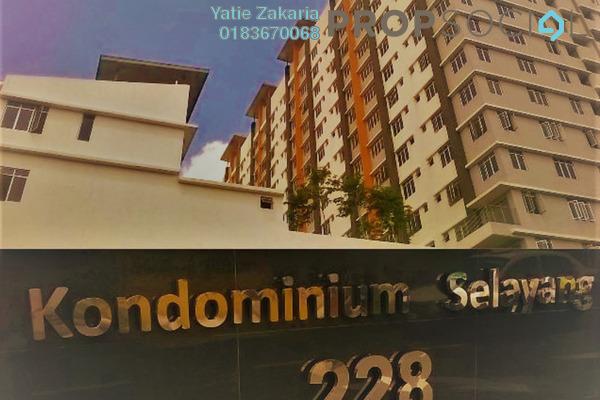 Condominium For Rent in 228 Selayang Condominium, Selayang Freehold Fully Furnished 3R/2B 1.5k
