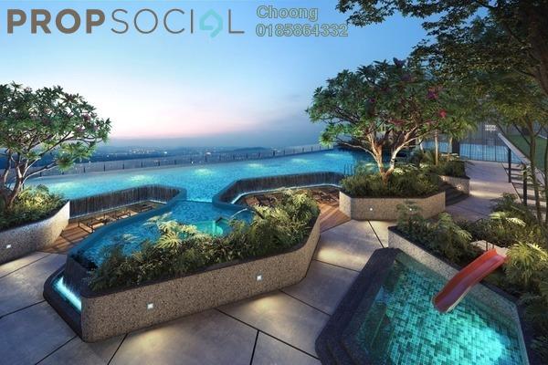 Condominium For Sale in The Arcuz, Kelana Jaya Leasehold Semi Furnished 2R/1B 709k