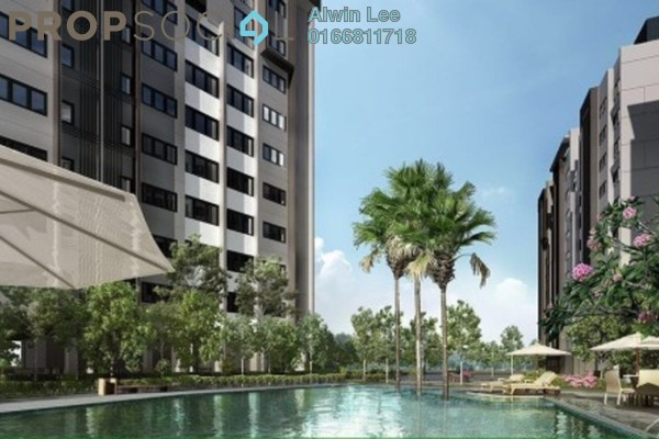 Apartment For Rent in Suria Ixora, Setia Alam Freehold Semi Furnished 3R/2B 800translationmissing:en.pricing.unit