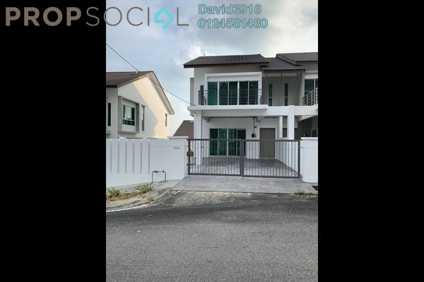 Terrace For Sale in Taman Titi Heights, Balik Pulau Freehold Unfurnished 4R/4B 880k