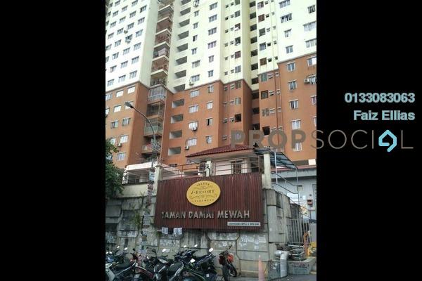 Apartment For Rent in Damai Mewah B Apartment, Kajang Freehold Unfurnished 3R/2B 900translationmissing:en.pricing.unit
