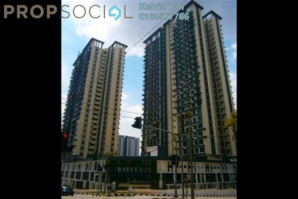 Condominium For Rent in Raffel Tower, Bukit Gambier Freehold Fully Furnished 4R/3B 2.8k