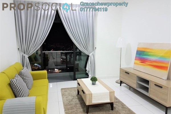 Serviced Residence For Rent in The Platino, Skudai Freehold Fully Furnished 3R/2B 2.1k