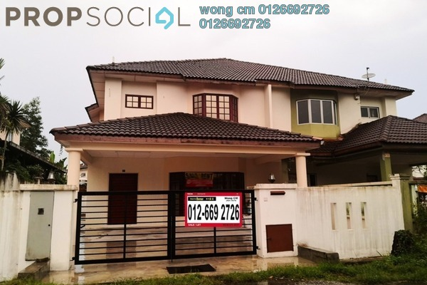 Semi-Detached For Sale in Taman Bukit Permai, Bandar Mahkota Cheras Freehold Unfurnished 4R/3B 900k