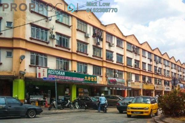 Shop For Rent in Taman Pusat Kepong, Kepong Freehold Unfurnished 0R/2B 2.8k