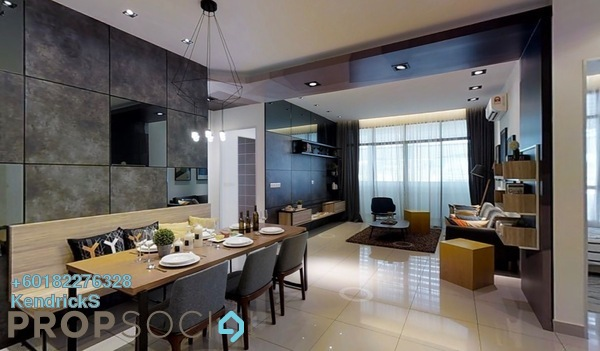 Serviced Residence For Sale in Conezión, IOI Resort City Freehold Semi Furnished 3R/3B 680k