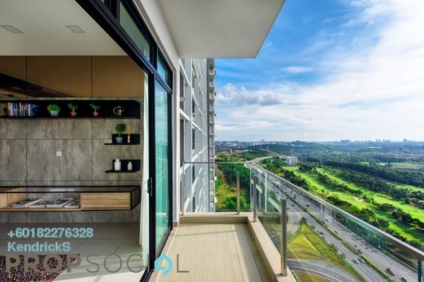 Serviced Residence For Sale in Conezión, IOI Resort City Freehold Semi Furnished 2R/2B 504k