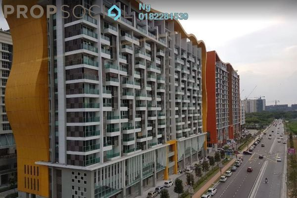 For Rent Condominium at Pacific Place, Ara Damansara Freehold Semi Furnished 2R/2B 1.7k