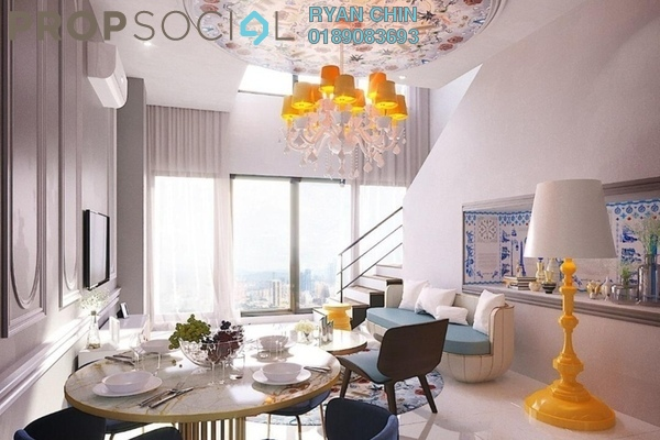 Duplex For Sale in Arte Cheras, Cheras Freehold Semi Furnished 3R/2B 430k
