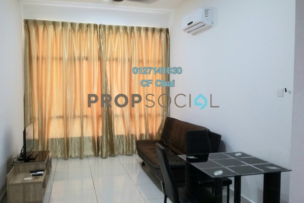 Serviced Residence For Sale in D'Summit Residences, Skudai Freehold Fully Furnished 1R/1B 298k