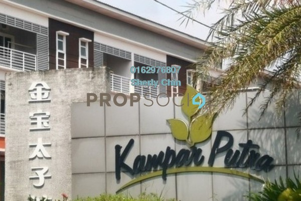 SoHo/Studio For Rent in Kampar Putra, Kampar Freehold Fully Furnished 2R/2B 800translationmissing:en.pricing.unit