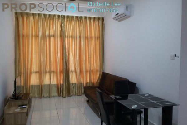 Serviced Residence For Rent in D'Summit Residences, Skudai Freehold Fully Furnished 1R/1B 1.1k
