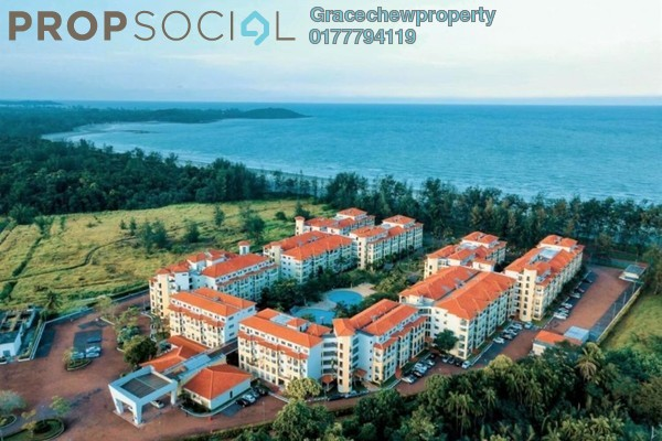Serviced Residence For Rent in Tiara Desaru Seaview Residence, Kota Tinggi Freehold Fully Furnished 1R/1B 1.28k