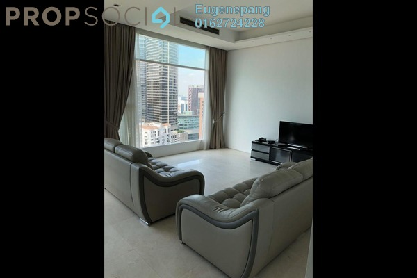 Condominium For Rent in Quadro Residences, KLCC Freehold Fully Furnished 3R/3B 8k