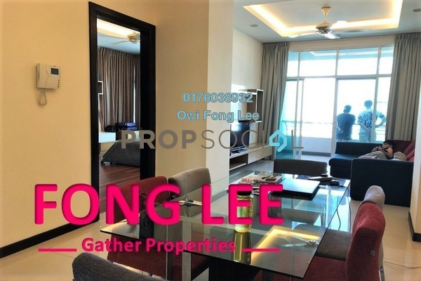 Condominium For Sale in Fettes Residences, Tanjung Tokong Freehold Fully Furnished 3R/2B 1.15m