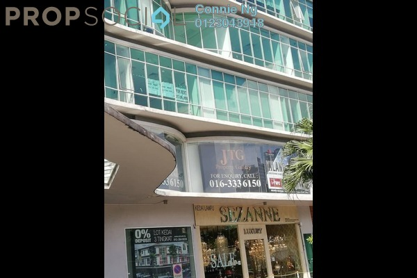 Office For Rent in Oval Tower, TTDI Freehold Unfurnished 0R/1B 2.7k