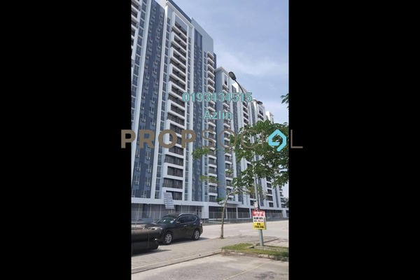 Apartment For Rent in Sentrovue, Puncak Alam Freehold Semi Furnished 4R/2B 1.2k