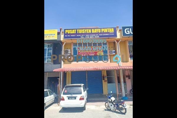 For Rent Shop at Taman Seremban Jaya, Seremban Freehold Unfurnished 0R/2B 1k