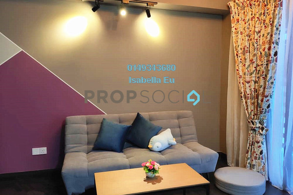 Serviced Residence For Rent in 28 Boulevard, Pandan Perdana Freehold Fully Furnished 1R/1B 1.5k