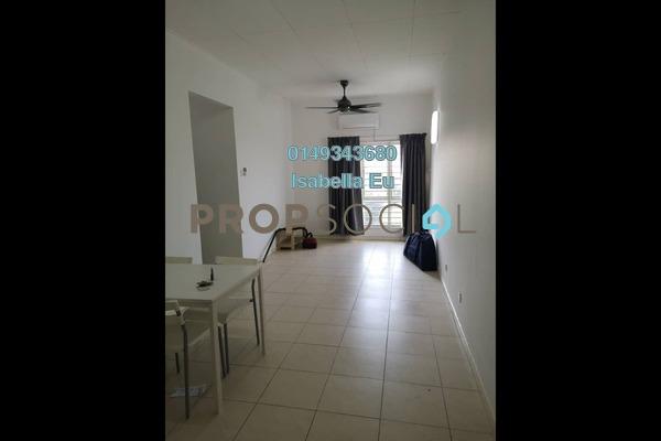Apartment For Rent in Baiduri Courts, Bandar Bukit Puchong Freehold Fully Furnished 3R/2B 1k