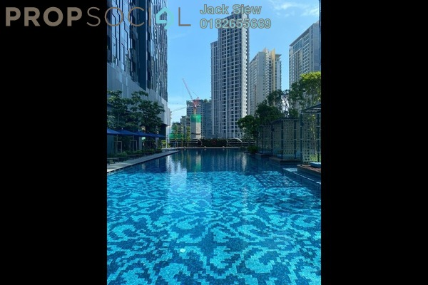 Serviced Residence For Rent in Star Residences, Kuala Lumpur Freehold Fully Furnished 1R/1B 4.2k
