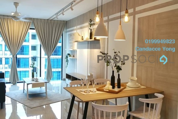 Serviced Residence For Rent in Trefoil, Setia Alam Freehold fully_furnished 2R/2B 2.8k