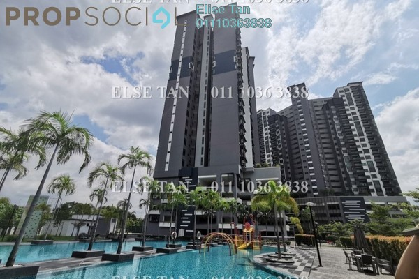 Condominium For Sale in The Vyne, Sungai Besi Freehold Semi Furnished 3R/2B 364k