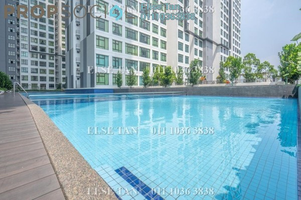 Condominium For Sale in D'Summit Residences, Skudai Freehold Semi Furnished 2R/2B 270k