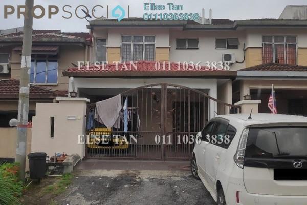Terrace For Sale in Taman Puncak Jalil, Bandar Putra Permai Freehold Semi Furnished 4R/3B 388k