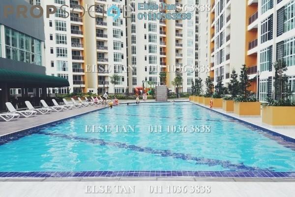 Condominium For Sale in KSL Residences @ Daya, Johor Bahru Freehold Semi Furnished 3R/2B 295k