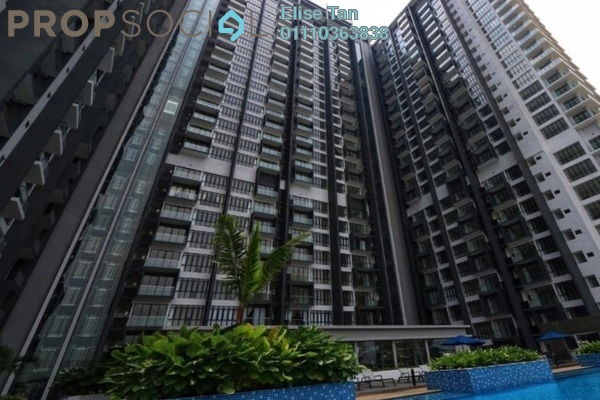 Condominium For Sale in D'Pristine, Medini Freehold Semi Furnished 2R/2B 367k