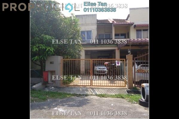 Terrace For Sale in Bandar Tasik Puteri, Rawang Freehold Semi Furnished 4R/3B 280k