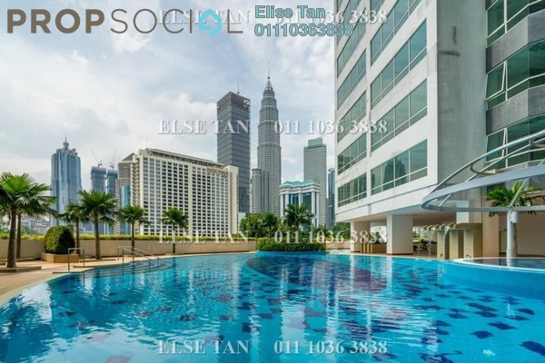 Condominium For Sale in The Crest, Kuala Lumpur Freehold Semi Furnished 3R/2B 735k