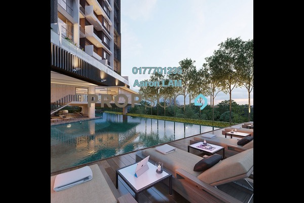 Condominium For Sale in Stonor 3, KLCC Freehold Semi Furnished 1R/1B 1.2m