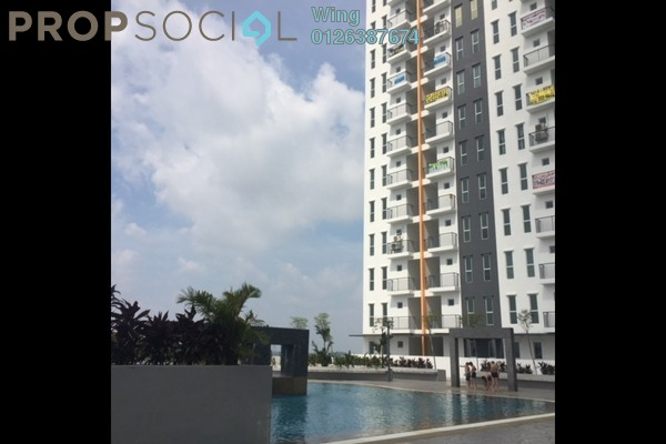 Condominium For Sale in Ascotte Boulevard, Semenyih Freehold Unfurnished 3R/2B 308k