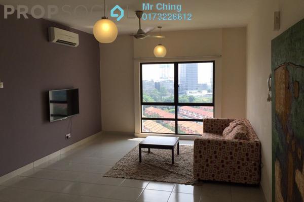 Serviced Residence For Sale in Pelangi Damansara Sentral, Mutiara Damansara Freehold Semi Furnished 1R/1B 380k