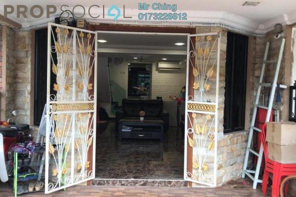 Terrace For Sale in Taman Castlefield, Sungai Besi Freehold Semi Furnished 3R/2B 510k