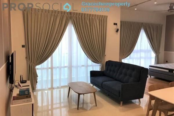 SoHo/Studio For Rent in TriTower Residence, Johor Bahru Freehold Fully Furnished 0R/1B 1.8k