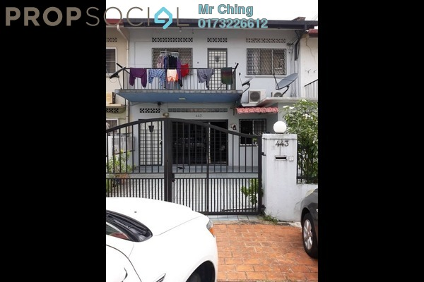 Townhouse For Sale in Jalan Gasing, Petaling Jaya Freehold Semi Furnished 7R/3B 850k