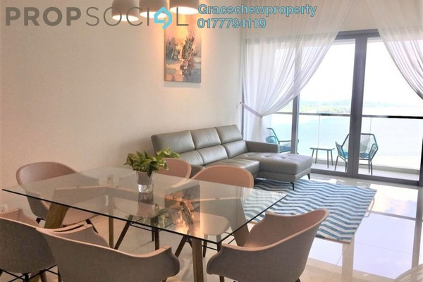 Condominium For Rent in Southern Marina Residences, Puteri Harbour Freehold Fully Furnished 3R/2B 3.5k