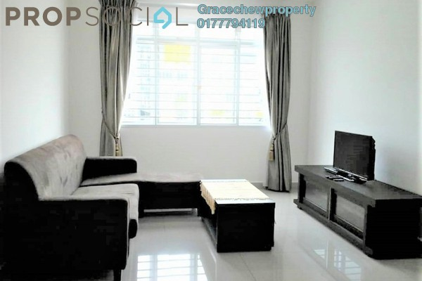 Apartment For Rent in The Pines Residence, Johor Freehold Fully Furnished 3R/2B 1.2k