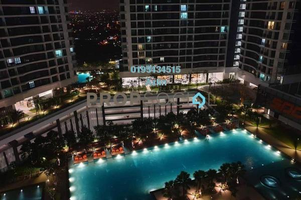 Serviced Residence For Rent in KL Traders Square, Kuala Lumpur Freehold Fully Furnished 3R/2B 2.3k