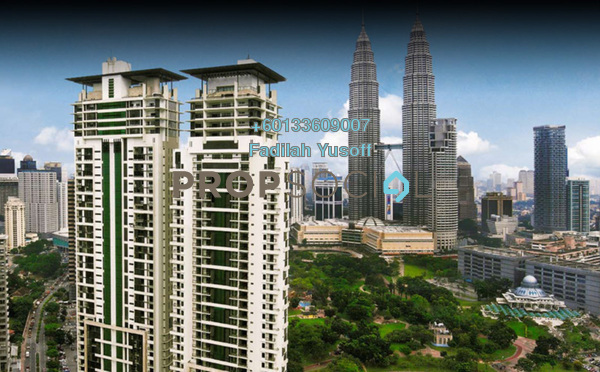 Apartment For Sale in The Binjai On The Park, KLCC Freehold Semi Furnished 4R/5B 8.68m